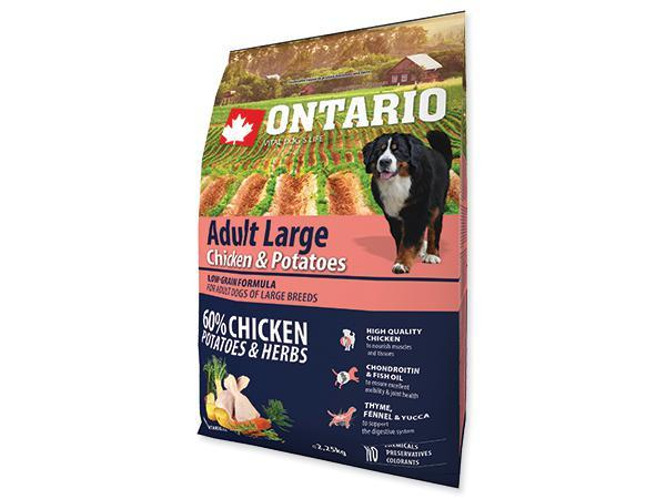 ONTARIO dog ADULT LARGE chicken