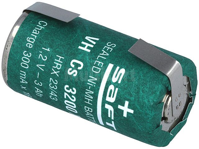 Akumulator SubC 1,2V Ni-MH 3000mAh z wyprowadzeniami