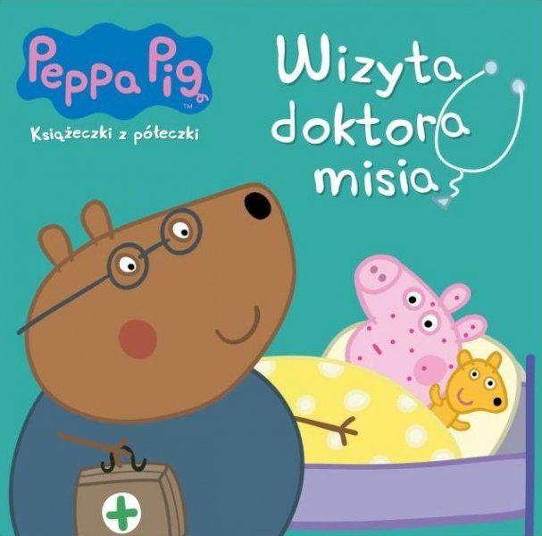 Świnka Peppa Książeczki z półeczki 68 Wizyta doktora misia