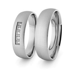 Obrączki srebrne klasyczne 5 mm - 4