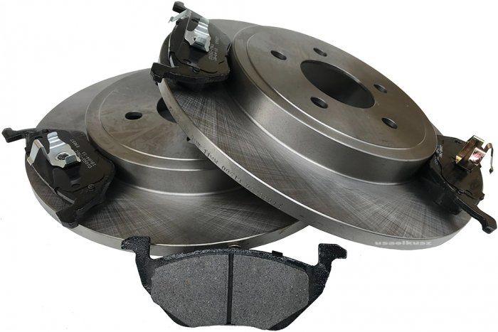 Tylne klocki + tarcze hamulcowe Mercury Mariner