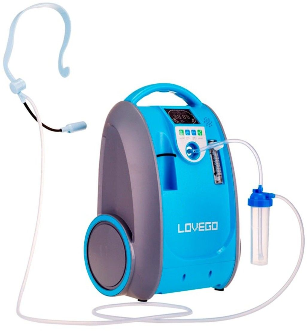Koncentrator tlenu 5L LoveGo przenośny + bateria