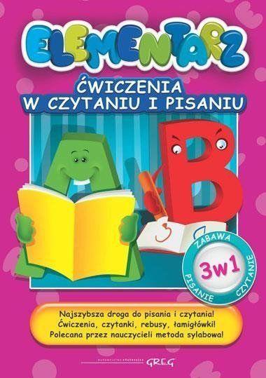 Elementarz - Ćwiczenia w czytaniu i pisaniu Greg - Marta Kurdziel
