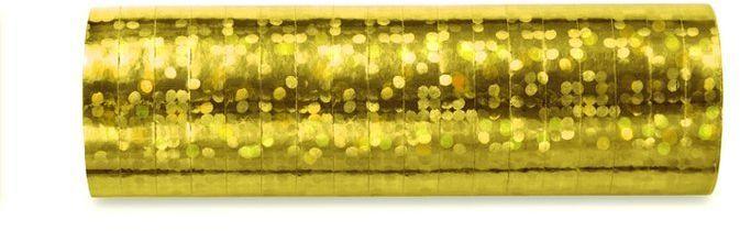 Serpentyny złote na Urodziny SHN-019