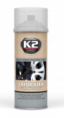 K2 Color Flex Clear-guma w sprayu bezbarwna 400ml