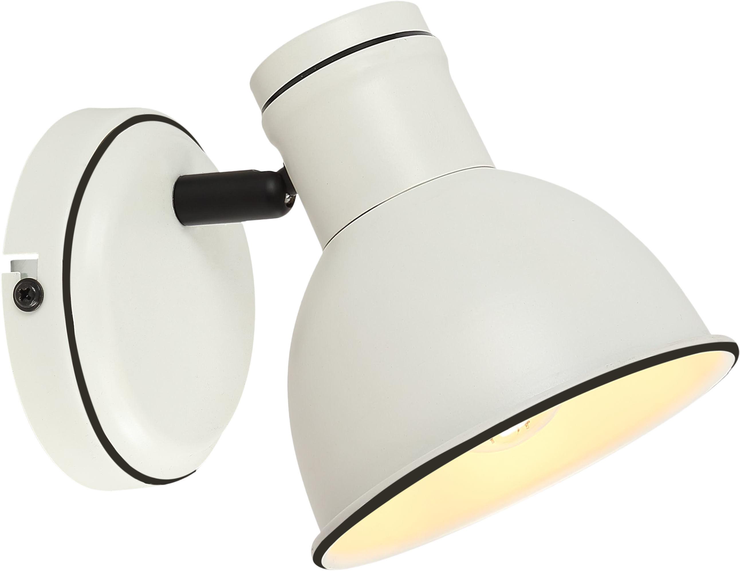 Candellux ZUMBA 91-72115 kinkiet lampa ścienna biała + czarny 1X40W E14
