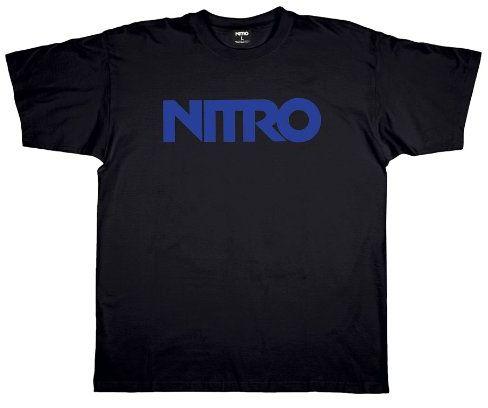 Nitro Męski T-shirt STANDARD, czarny, S, 1121-872919_12