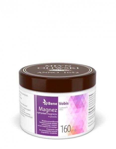 Bene Vobis - Magnez (cytrynian magnezu) - 250g