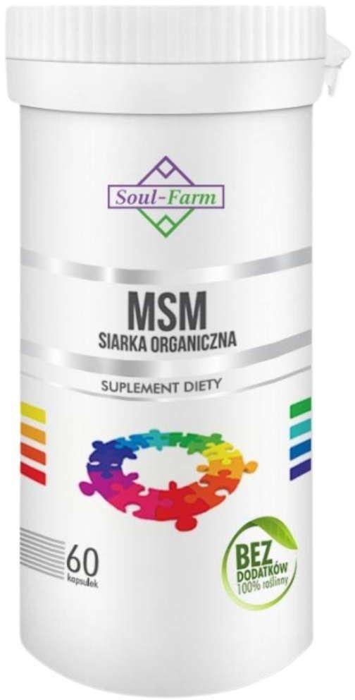 Soul-Farm MSM 60 kaps PREMIUM