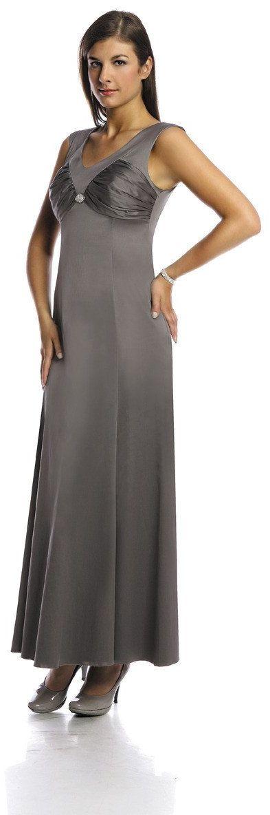 Sukienka FSU226 SZARY