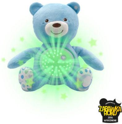 Chicco zabawki 060368 miś z projektorem niebieski
