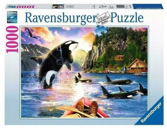 Puzzle Ravensburger 1000 - Orki w pobliżu, Close Encounters