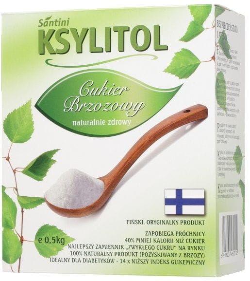 Ksylitol 500 g - santini finlandia