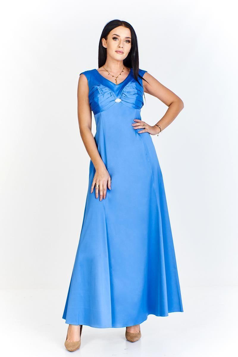Sukienka FSU226 CHABROWY JASNY