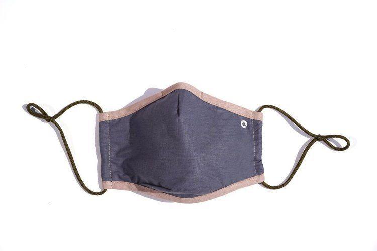 OZONE Maska antysmogowa CASUAL z filtrem N95 szara - Szary