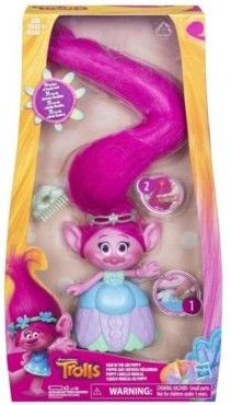 Hasbro Trolle Poppy wyjątkowa fryzura C1305
