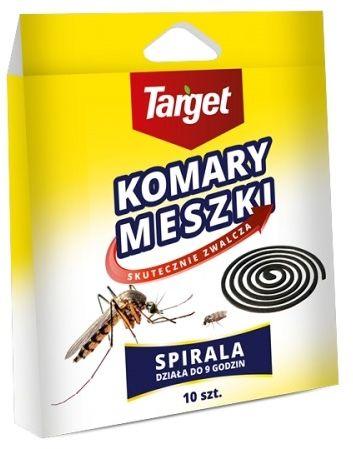 Spirale odstraszające komary  10 szt. target