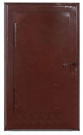 Drzwi rewizyjne NORDflam 140 x 290 mm brązowe