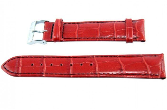 Pasek BISSET BS123 20mm czerwony