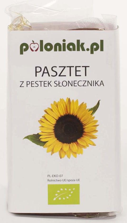 Pasztet wegański z pestek słonecznika BIO - Poloniak - 160g