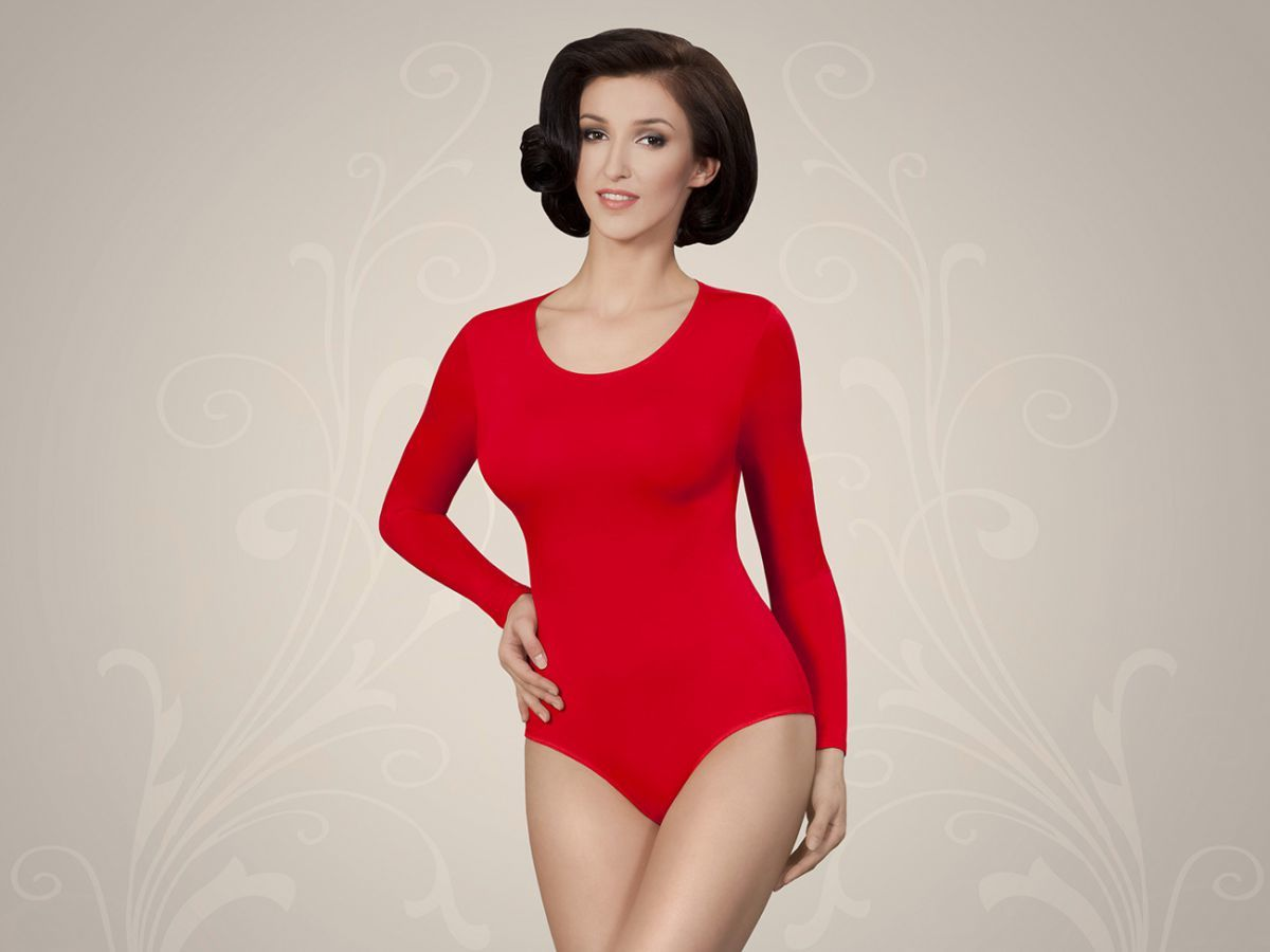 Sara body czerwony