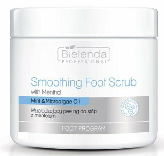 Bielenda Professional FOOT PROGRAM peeling do stóp z mentolem 600g