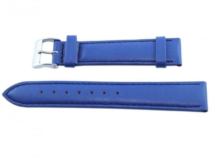 Pasek BISSET BS120 18mm niebieski