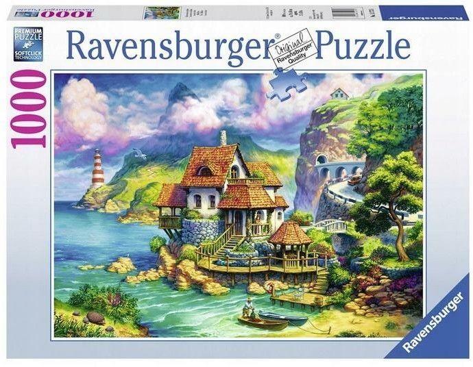 Puzzle Ravensburger 1000 - Domek na klifie, The Cliff House