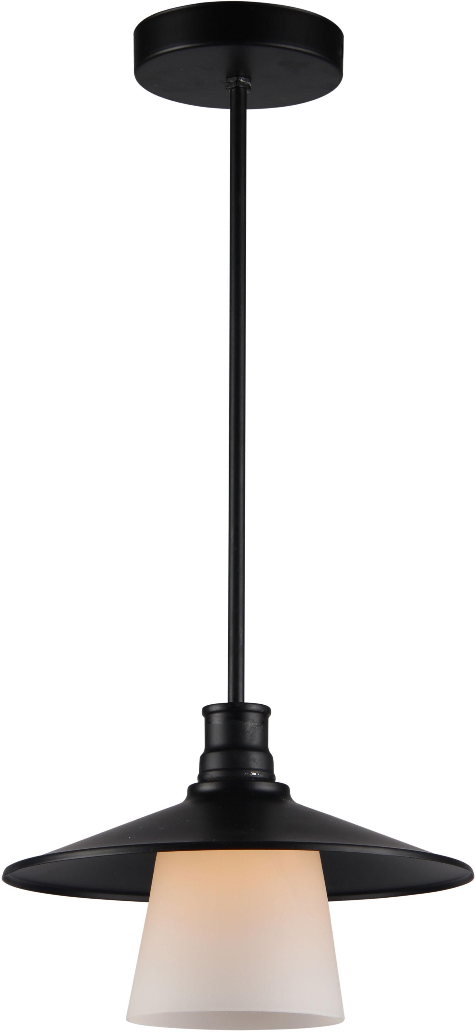Candellux LOFT 31-43108 lampa wiszaca loftowa czarna 1X60W E27 26cm