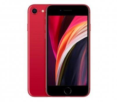 Apple iPhone SE 2020 Dual eSIM 64GB Czerwony