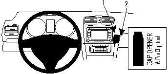 ProClip do Volkswagen Golf VI 09-12