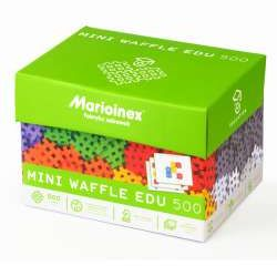 Klocki ''mini waffle'' EDU 500 el. w kartonie +28 kart (5903033902431)