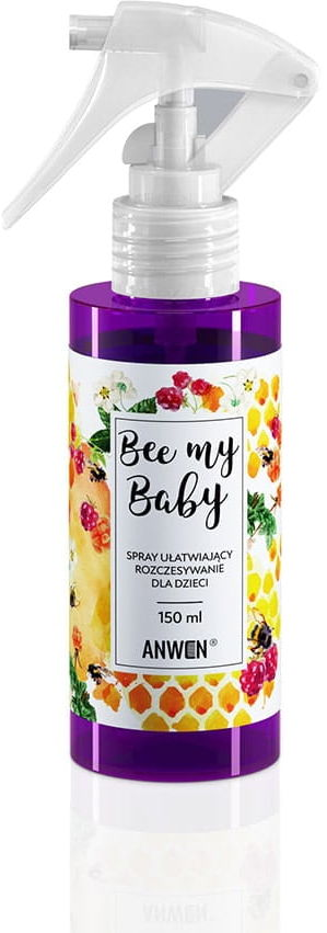 Anwen Spray do Włosów dla Dzieci Bee My Baby 150 ml