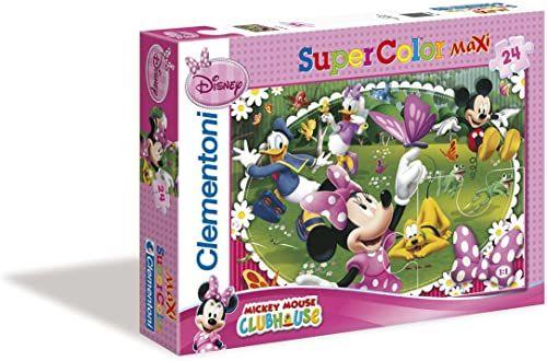 młodzieży; dzieci; lat; minnie; maksimum; puzzle; myszy; myszka; dziewczynka; miesięcy; micky; zabawka; supercolor