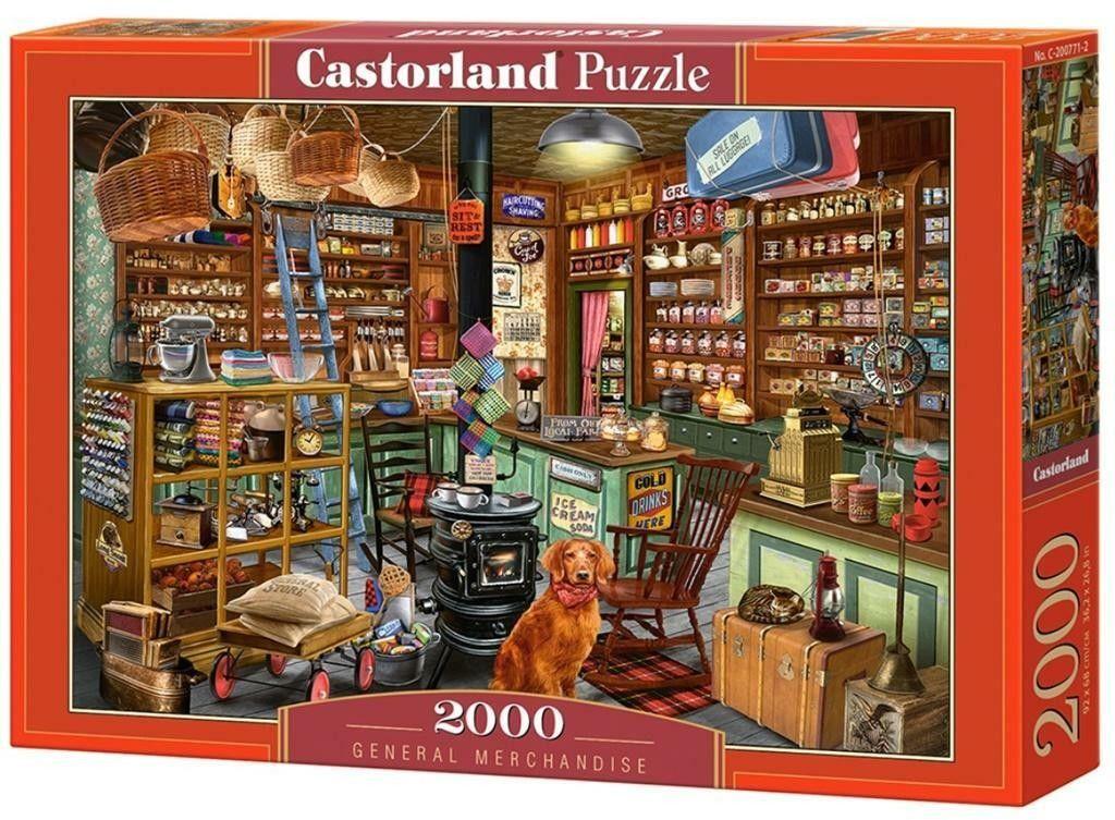 Puzzle Castorland 2000 - Sklep, General Merchandise