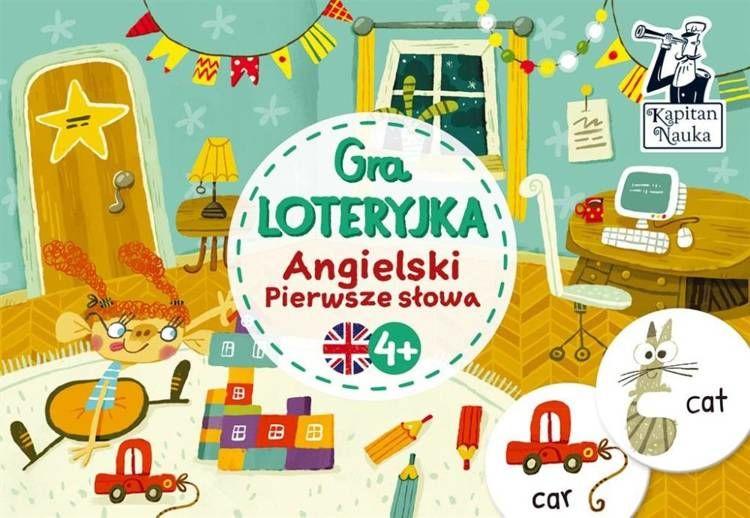 Angielski Pierwsze słowa Gra loteryjka - Anastasiia Moshina