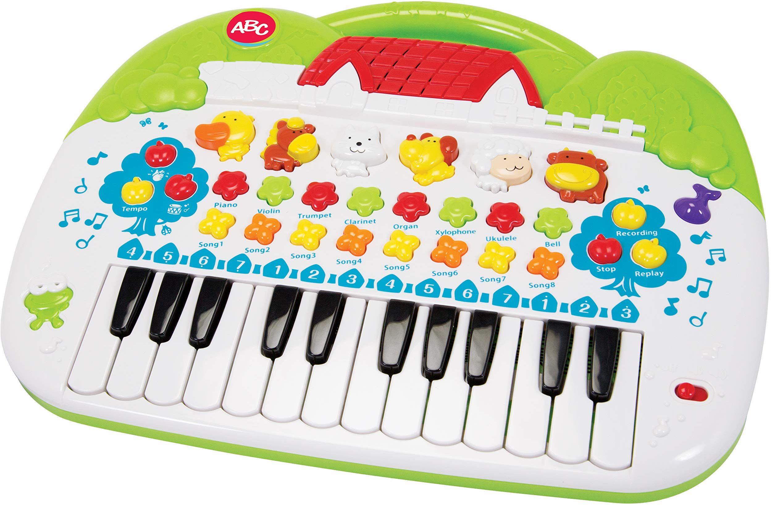 Simba 104018188 - ABC keyboard 28 x 39 cm