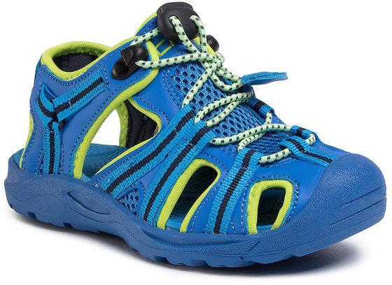 Sandały Kids Aquarii Hiking Sandal 30Q9664 Niebieski