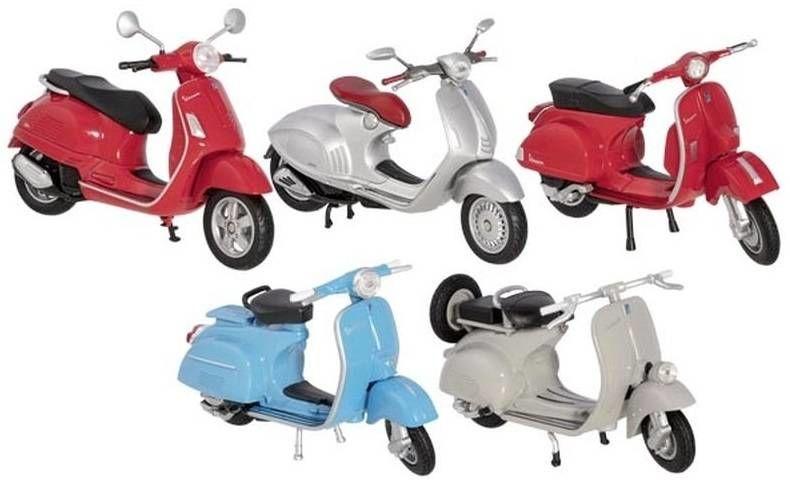 Model motocykla Vespa 12294-Goki, motocykle, skutery