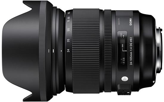 Sigma A 24-105mm F4 OS DG HSM - obiektyw do Nikon F Sigma A 24-105mm F4 OS DG HSM / Nikon