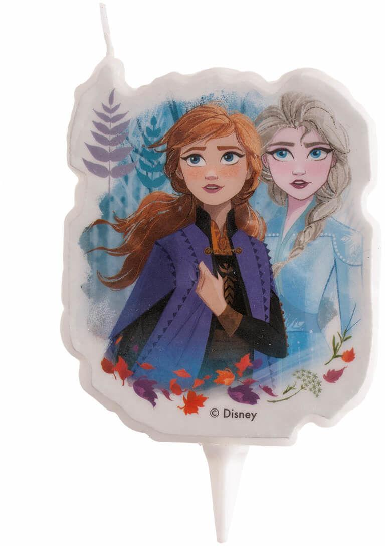 Świeczka urodzinowa Frozen 2 - Kraina Lodu - 1 szt.