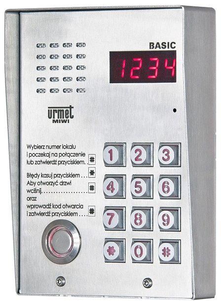 Panel wywoławczy 1062/105D MIWI-URMET