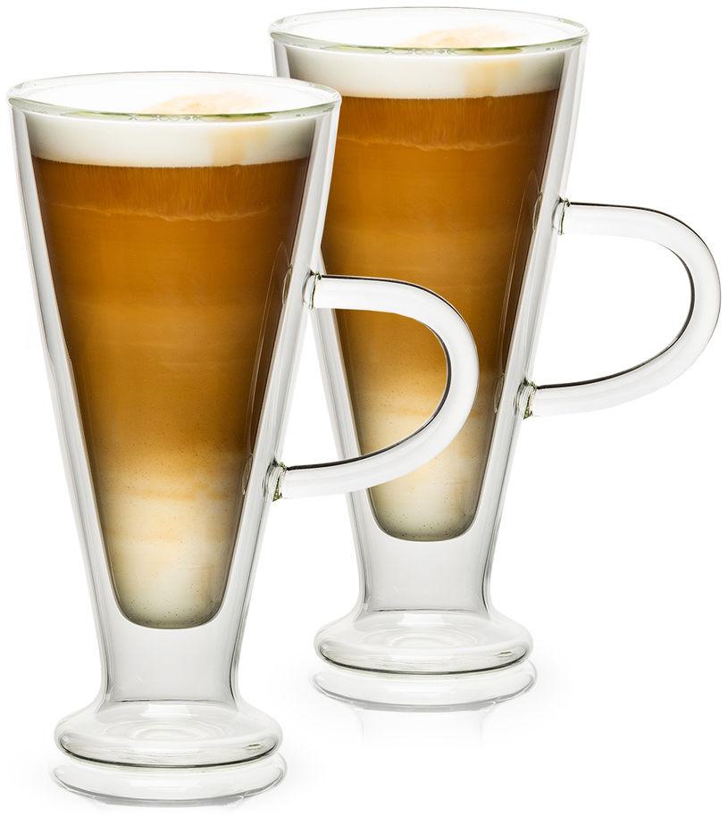 4home Szklanka termiczna Latte Elegante Hot&Cool, 230 ml, 2 szt.