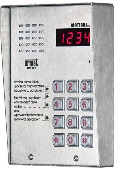 Panel wywoławczy 1052/100D MIWI-URMET