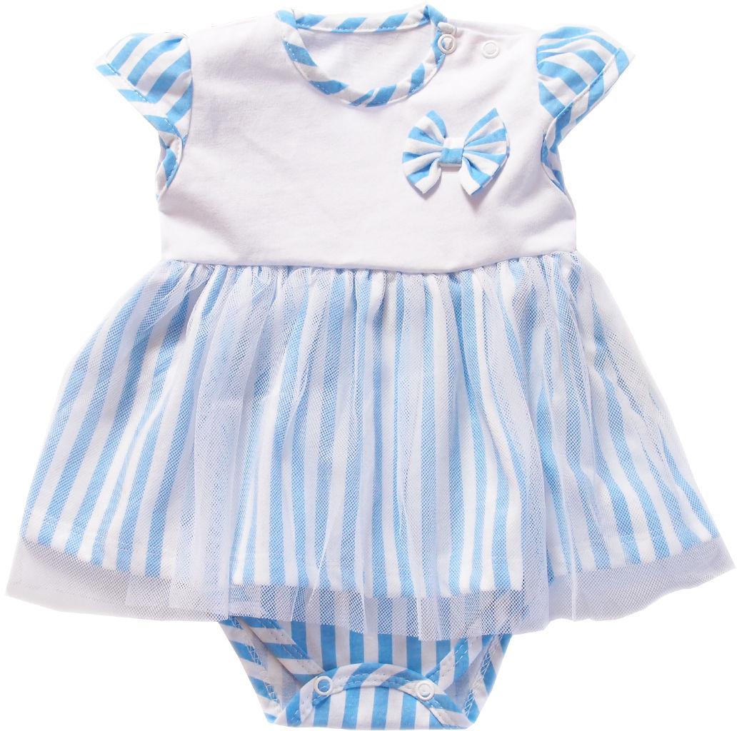 Body Sukienka dla niemowląt Marina krótki rękaw