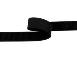 Taśma rzep elastyczny 30mm czarna Pętelka