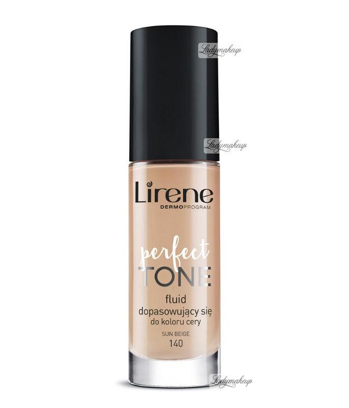 Lirene - PERFECT TONE - Fluid dopasowujący się do koloru cery - 140 - SUN BEIGE