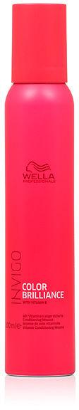 Wella Invigo Color Brilliance Odżywka w piance do włosów farbowanych 200 ml