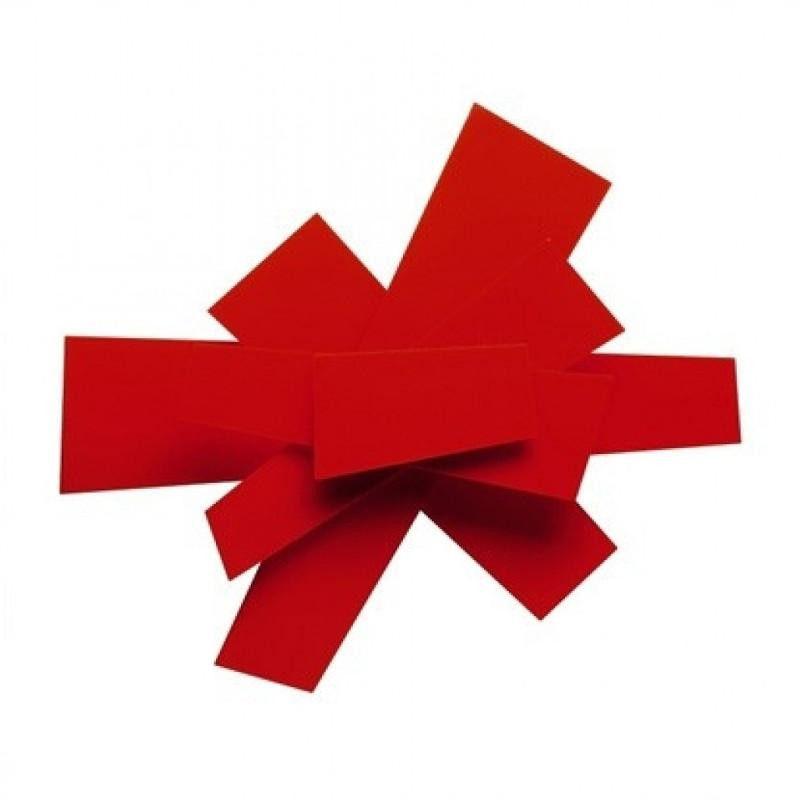 Big Bang Soffitto czerwony - Foscarini - kinkiet