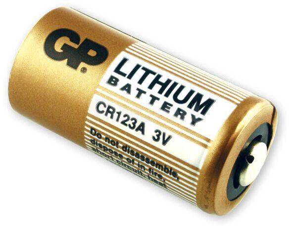 Bateria litowa 3V fotograficzna GP DL123A